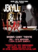 Jekyll and Hyde at Barons Court Theatre